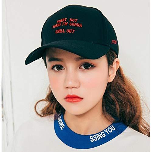 YPORE Hut In Mütze Buchstaben Bestickte Baseballmütze Gebogene Mützen Für Männer Und Frauen Paare Ich Bin Sehr Beschäftigt Kaufen Sie 2 Stück