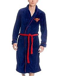 Superman Logo Peignoir bleu