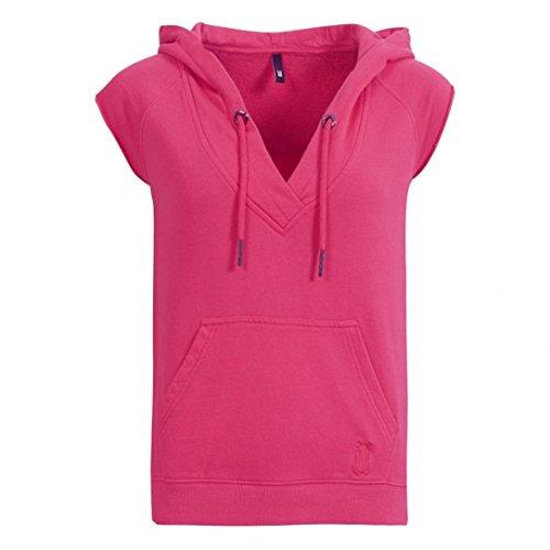 Sweat Capuche Sans Manches Hoody Kim Pink W - Unkut Rose