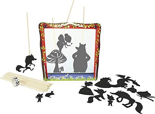 Avenue Mandarine Set de Teatro Chino Creativo de Sombras a partir de 4 años Kit de Actividad Manual Creativa Montaje de Teatro, 28 Personajes, Guirnalda Iluminada KC036C