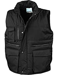Padded vest without sleeve Result