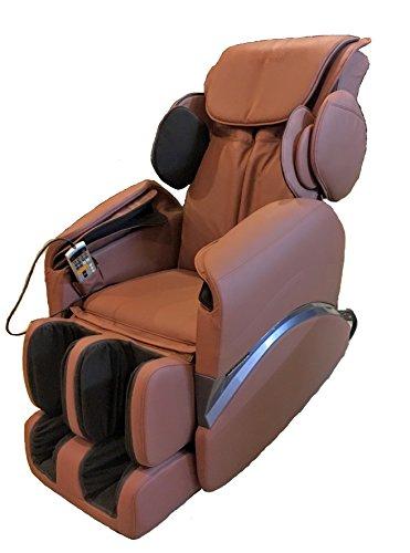 Robotouch Elegant Featured Full Body Shiatsu Massage Chair - Color Brown Robotouch Elegant Featured Full Body Shiatsu Massage Chair - Color Brown