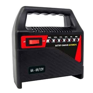 Carpoint 0635806 Chargeur de Batterie 6A TUV/GS