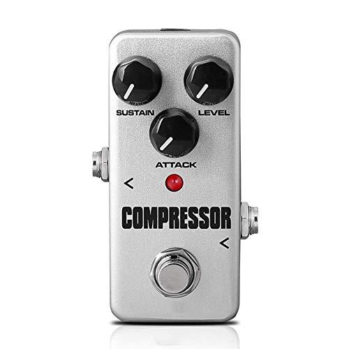 Mkiki Gitarre Pedal Effekt Prozessor Zubehör Tragbar für Musical Instrumente Bass - Kompressor