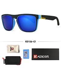 9407e6ce78e BuyWorld Fashion Guy s Sun Glasses from Kdeam Polarized Sunglasses Men  Classic Design All-Fit Mirror