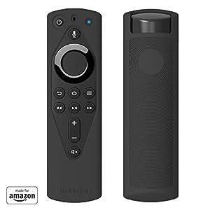 Mission Sleeves für Fire TV Voice Remote, Mitternachtsschwarz