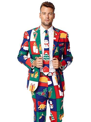 Opposuits Weihnachtsanzüge für Herren - besteht aus Sakko, Hose und ()