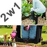 Klappbare Kniebank Kindersitz Multifunktion mit Kofferraumwanne für Garten