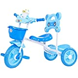 GoodLuck Baybee - Children Plug And Play Maalito Tricycle Kid's For 1-3 Years Baby Trike Ride On Outdoor | Suitable For Babies,Boys & Girls - (Blue)