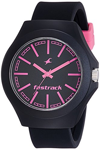 Fastrack Analog Black Dial Unisex Watch-38004PP05CJ
