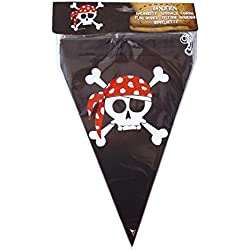Banderín para fiesta temática de piratas.