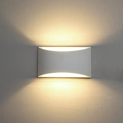 DECKEY Wall Light LED Up and Down Indoor Lamp Uplighter Downlighter Warm White - low-cost UK light store.