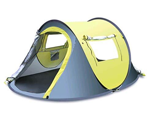 Schlafzimmer Von Isabella (Unbekannt 2-3Person Pop-up Camping Wanderzelt Wasserdichte Outdoor Familienreise, 1 Schlafzimmer Family Dome Zelt,Yellow)