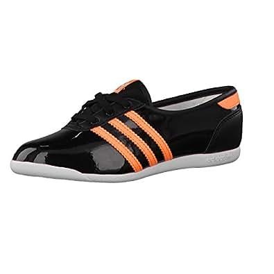 adidas Mädchen Ballerina Forum Slipper 2.0 K Core Black/Flash Orange/Core Black 32