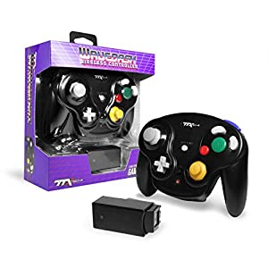 Ttx Gamecube Wavedash Wireless2.4 Ghz Controller Black For Nintendo Gamecube With Wii Console