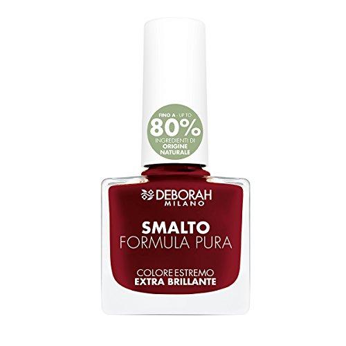 deborah-milano-formula-pura-nail-enamel-dark-red