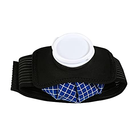 Vessie Glace - LEADSTAR Poche de Glace avec Sangle Velcro,