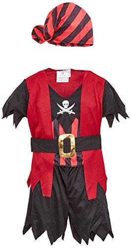 wn 82694Kostüm Baby Pirat–Mehrfarbig (Baby Piraten Kostüm)