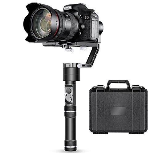 Foto Neewer Crane a 3 Assi Gimbal Stabilizzatore Portatile per Fotocamere DSLR &...
