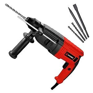 SCHMIDT security tools SDS-Plus Bohrhammer RH-1010 Meißelhammer 1010W 3,5J | Schlagbohren Bohren Meißeln inkl. Koffer…