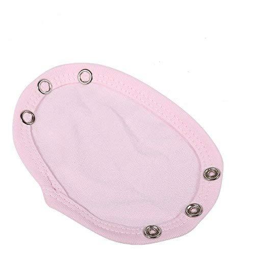 GLOGLOW Body Extender, 5Pcs Universal Jumpsuit Extend Film Weichen Kind Bodysuit Extender Baby Care Patch für Baby Jungen Mädchen Infant Toddler Clothes Verlängern Lebensdauer(Pink) - Eine Infant Bodysuit