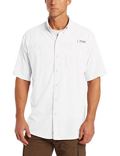 Columbia Herren Freizeit-Hemd Weiß - weiß