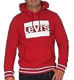 Levi's Classic Batwing Hoodie Rib Crimson
