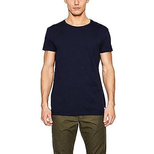 edc by Esprit 047cc2k069, T-Shirt Homme, Bleu (Navy 400), X-Large