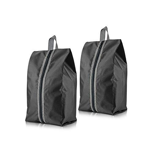 YeeStone 10 Stück Schuhtasche mit Zugband/Transparente Fenster, Schuhbeutel Sporttasche Rucksack