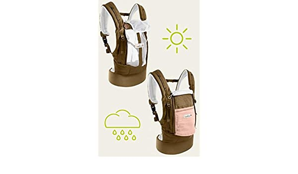 d8054ab69cf4 Physiocarrier Coton Safari poche Rose de JPMBB  Amazon.fr  Bébés    Puériculture