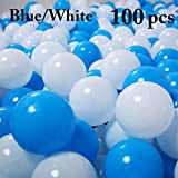 Joyibay 100PCS 2.17'' Kids Play Ball Soft Reusable Funny Ocean Ball Pit Ball Play Toy