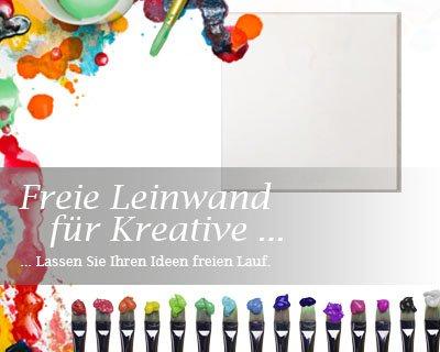 Bilderdepot24 toile en blanc, paintable qualité Premium, montés sur toile tendue - bois véritable - format carré - 50x50 cm - 350g/m² - complètement encadrée, 7 couleurs disponibles