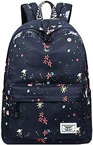 Mygreen Kid Child Girl Cute Patterns School Backpack Travel Bag Unisex School Bag Collection Lightweight Backp