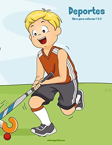 Deportes libro para colorear 1 & 2