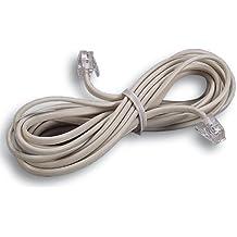 MAURER 19020140 Cable Telefono 3mt - 2 Clavijas - 6/4