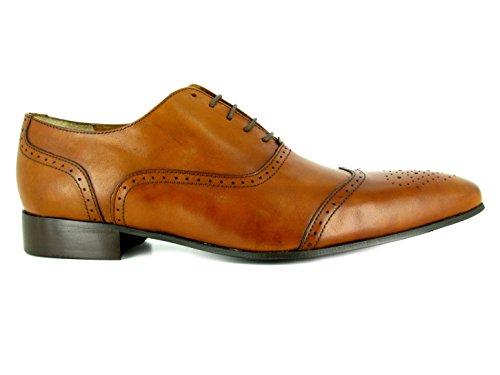 J.BRADFORD Chaussures Richelieu JB-DANIEL Camel Marron