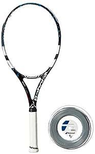Babolat 101169-146 Pure Drive Lite GT Unstrung Tennis Racquet, 4 1/4 (Black/Blue)