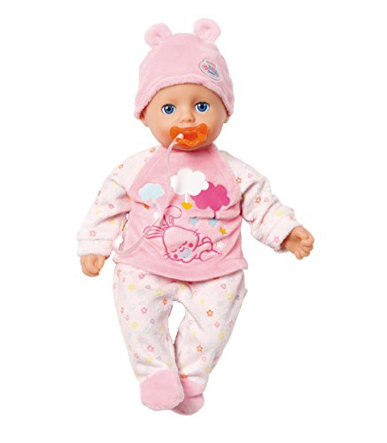 Zapf My Little Baby Born Super Soft Girl muñeca - Muñecas (Rosa, Blanco, Unisex, Chica, 1 año(s), 320 mm, 202 mm)