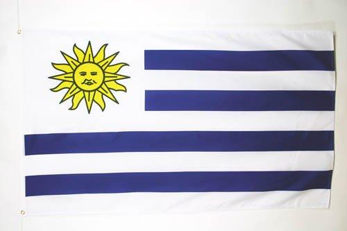 BANDERA de URUGUAY 150x90cm - BANDERA URUGUAYA 90 x 150 cm - AZ FLAG