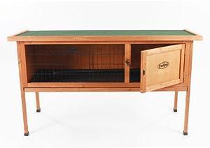 Wooden 4ft Rabbit /GuineaPig Easipet Hutch single storey (508) from Easipet