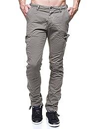 Japan Rags - Jeans Bacus Treillis Ajuste Kaki