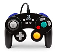 Wired Controller for Nintendo Switch - GameCube Style: Black (Nintendo Switch)