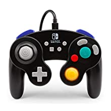PowerA Wired Officially Licensed GameCube Style Controller/Super Smash Bros. Black