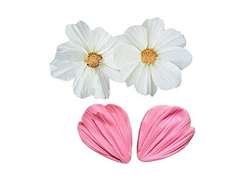 OVVO Daisy Blütenblätter Formen Fondant Kuchen Form Dekoration Schokoladenformen (Pink) Formen Kuchen Dekorieren Tools - Daisy Küche