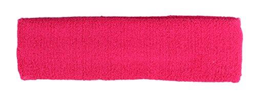 Stirnband / Schweißband in pink