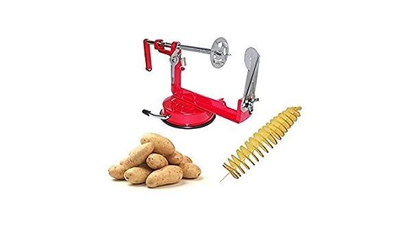 Potato Spiral Cutter Amazoncouk Kitchen Home