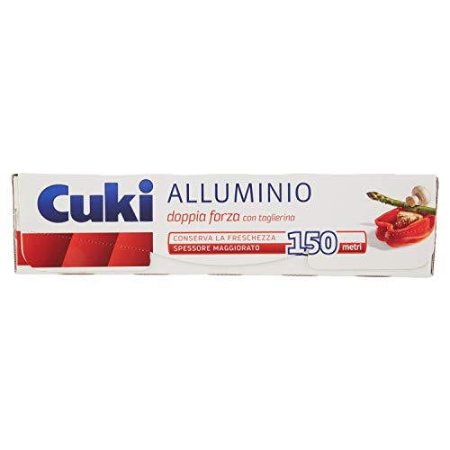 Cuki - alluminio 150 metri, con taglierina, doppia forza
