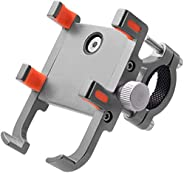 Goodern Bike & Motorcycle Phone Mount Stand 360 Degree Rotatable Six-Claw Aluminum Alloy Mobile Phone Brac