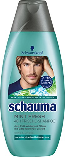 Schwarzkopf Schauma Mint Fresh Shampoo, 4er Pack (4 x 400 ml)
