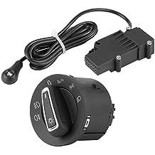 KIMISS Interruptor de la Linterna del Coche con Control de luz antiniebla y Sensor para 7